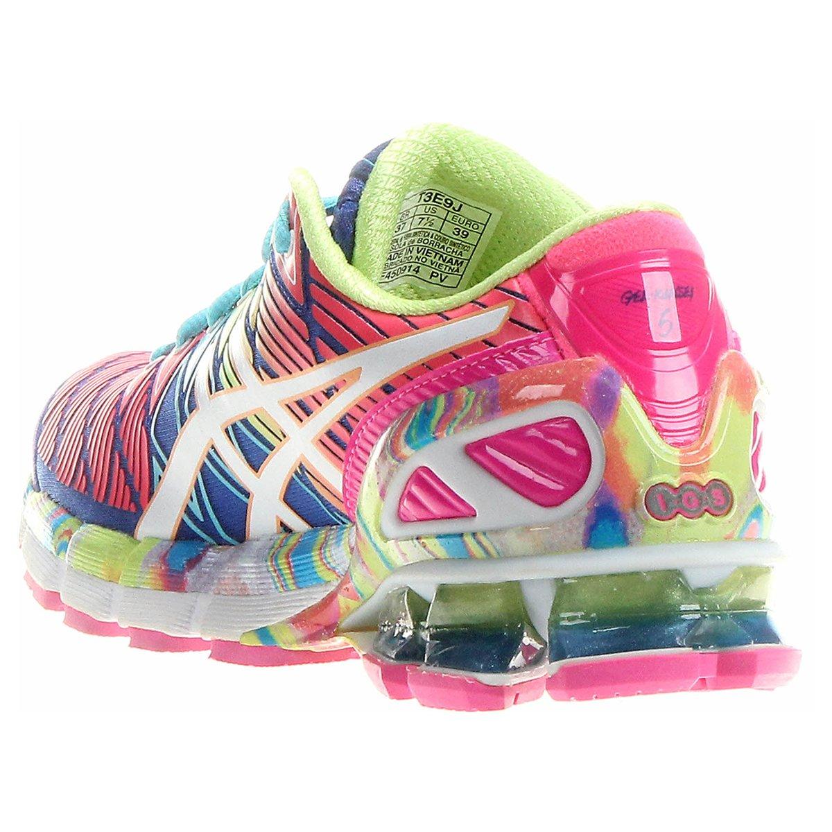 7810a0601af32 Tnis Asics Gel Kinsei 5 Verde Claro e Pink Netshoes tnis
