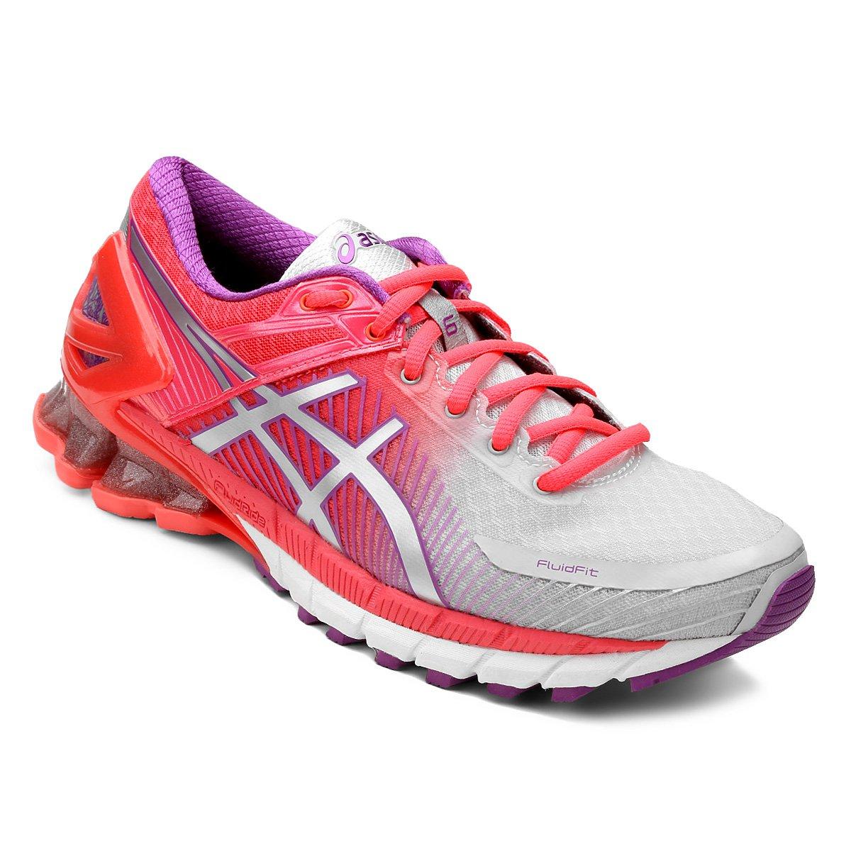 Tênis Asics Gel Kinsei 6 Feminino - Pink e Cinza - Compre Agora ... ab9d158a0c225