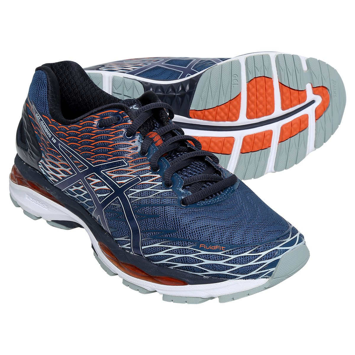 a0441612817 Tênis Asics Gel Nimbus 18 Masculino - Compre Agora Netshoes ... 194ed1ef50086