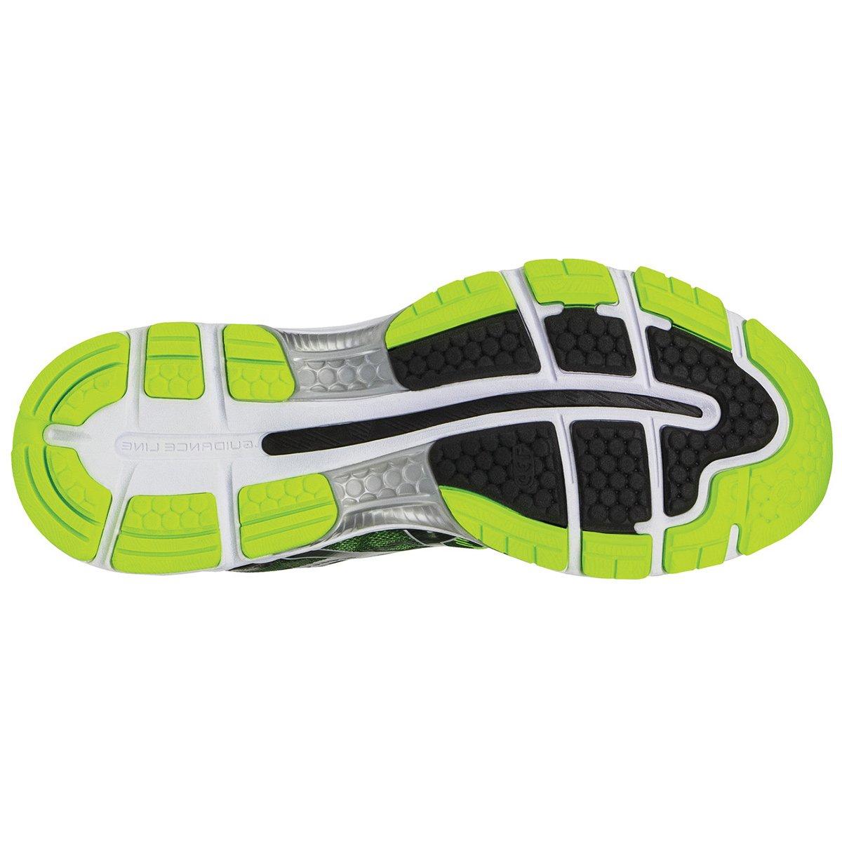 Asics Masculino Preto Nimbus Limão e 19 Tênis Gel Verde R47qCP