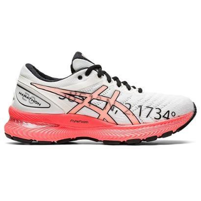 Tênis Asics Gel Nimbus 22 Maratona Barcelona Feminino