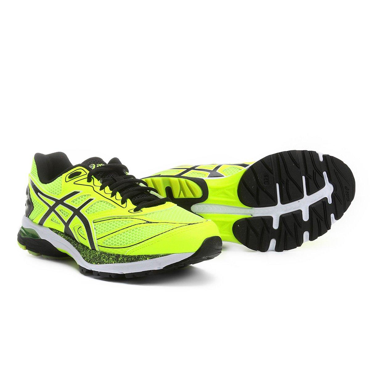 e843967718f2f Tênis Asics Gel Pulse 8 A Masculino - Verde Limão e Preto - Compre Agora