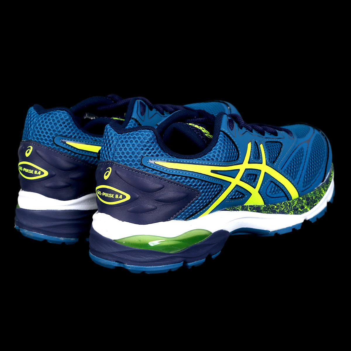 ... Tênis Asics Gel Pulse 8 A Masculino - Azul e amarelo - Compre Agora . f95449ed68a5d