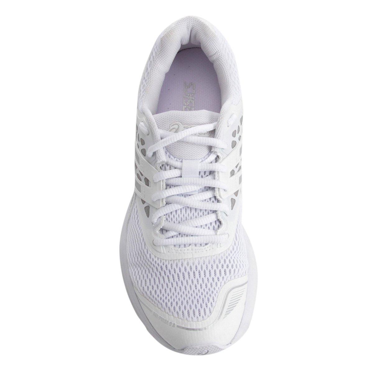 Branco prata A 9 e Tênis Pulse Gel Asics Feminino qzYU47f