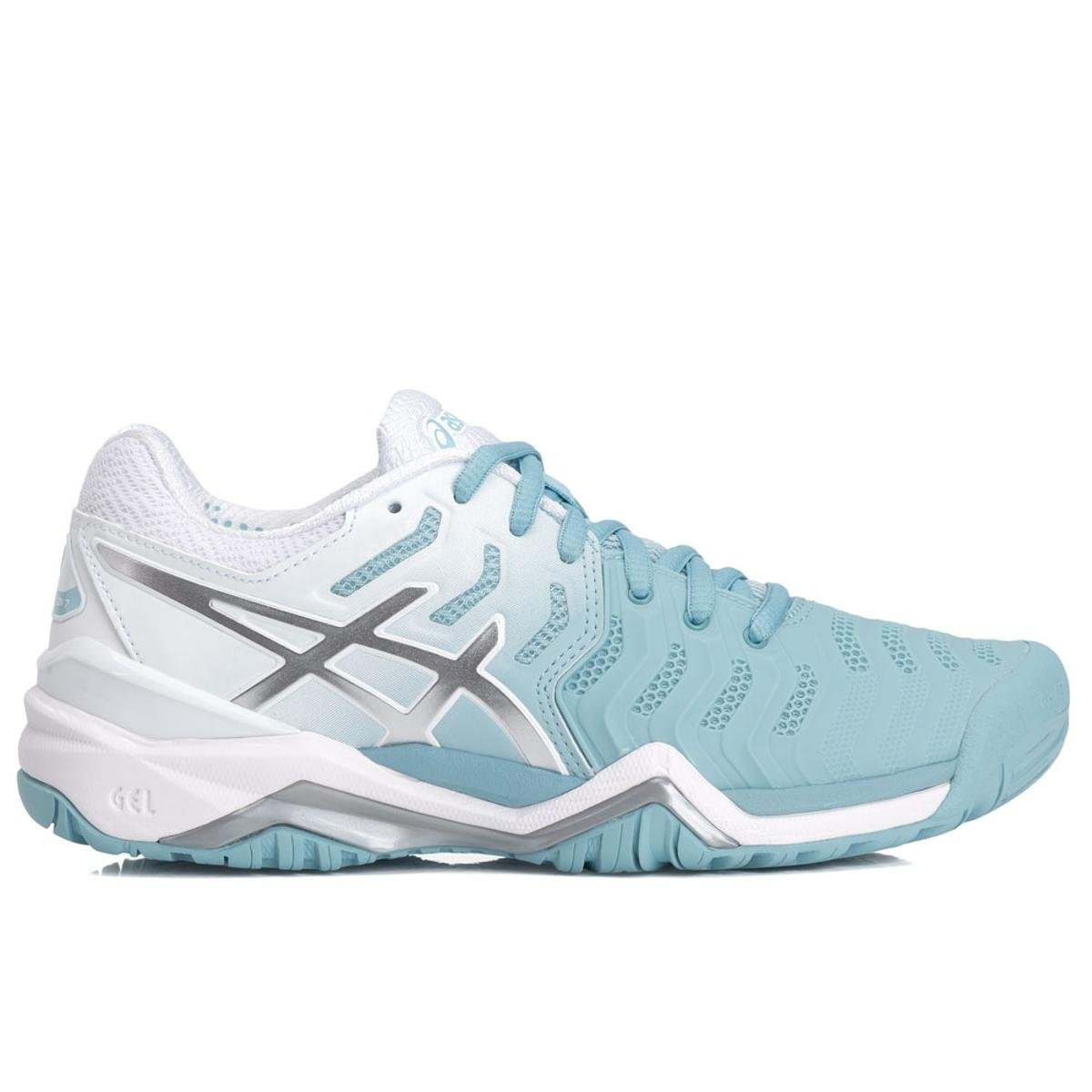 tenis asics gel resolution 7 azul 2019