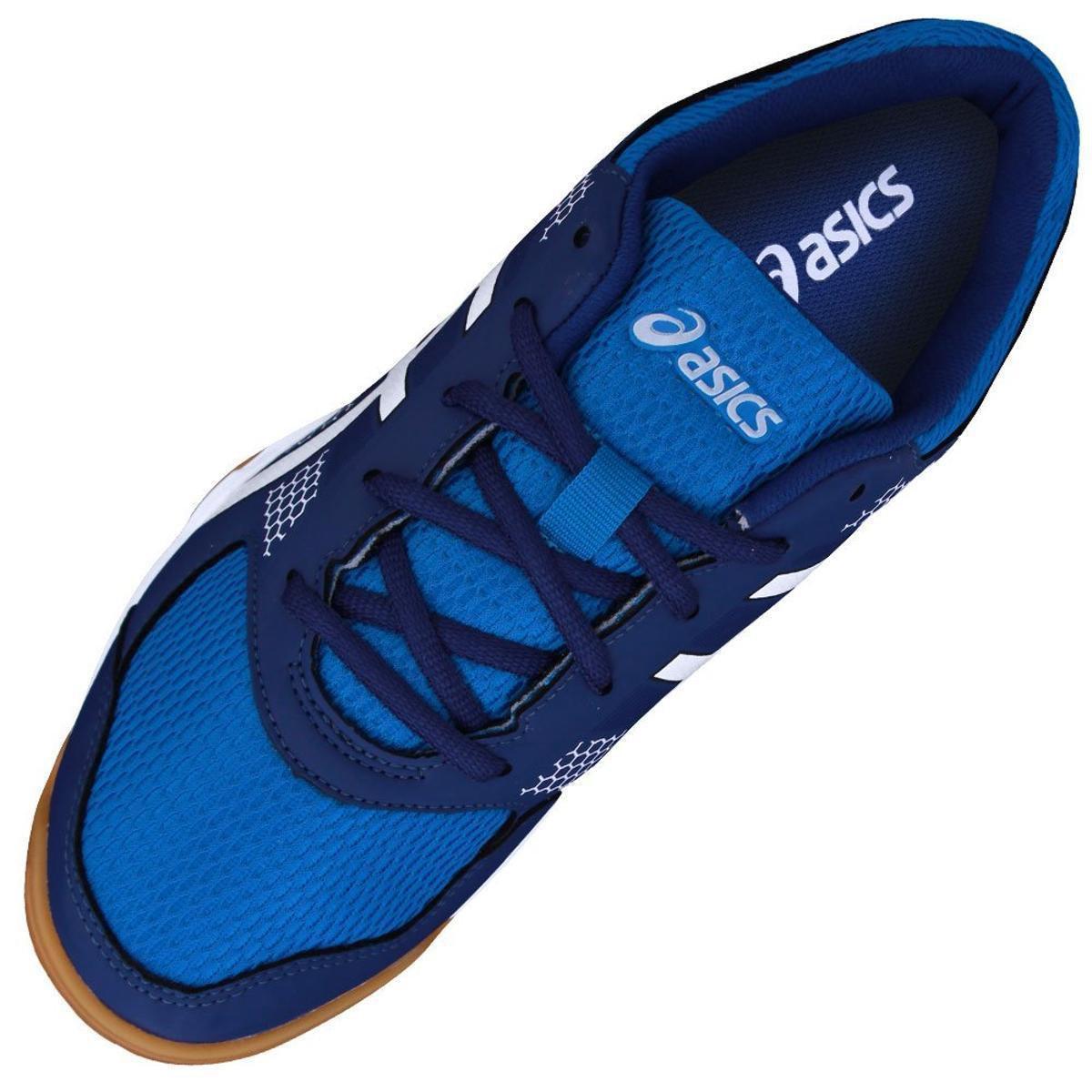 Tênis Asics Gel-Rocket 8A Masculino - Azul e Branco - Compre Agora ... 5b82636b69186