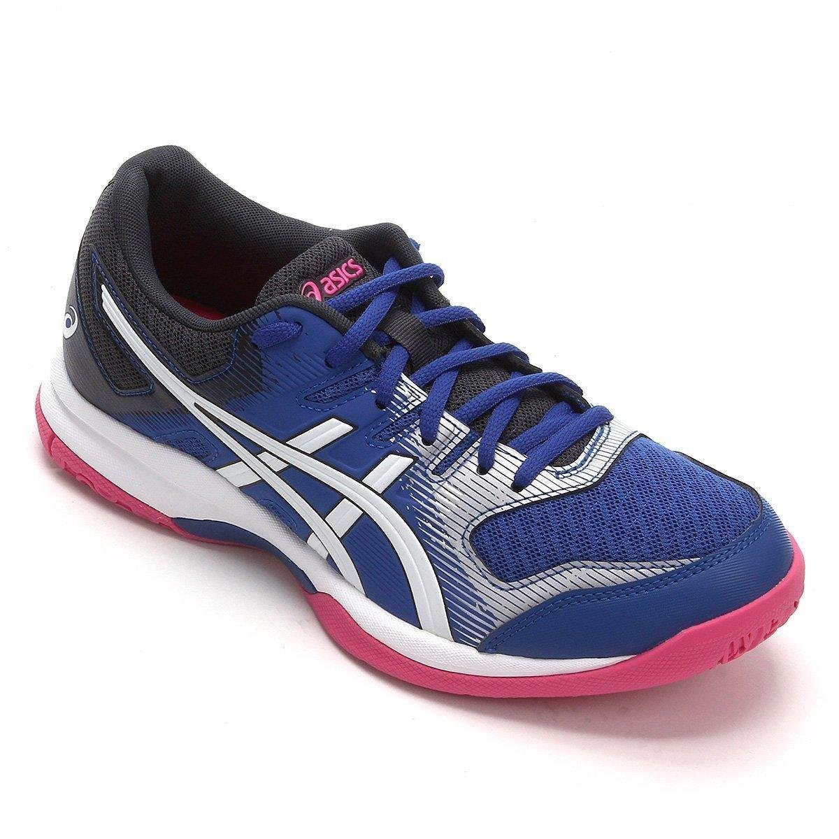 excellent quality big discount real quality Tênis Asics Gel-Rocket 9 Feminino - Azul e Branco