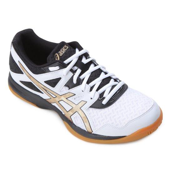 Tênis Asics Gel-Task 2 Masculino - Branco+dourado