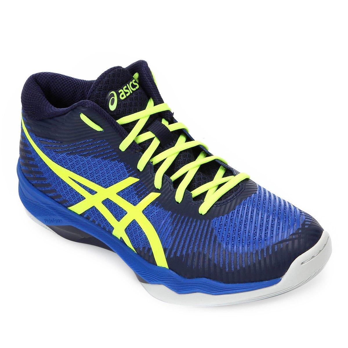 607e8ca98f Tênis Asics Gel-Volley Elite FF Mt Masculino - Azul e Verde - Compre ...