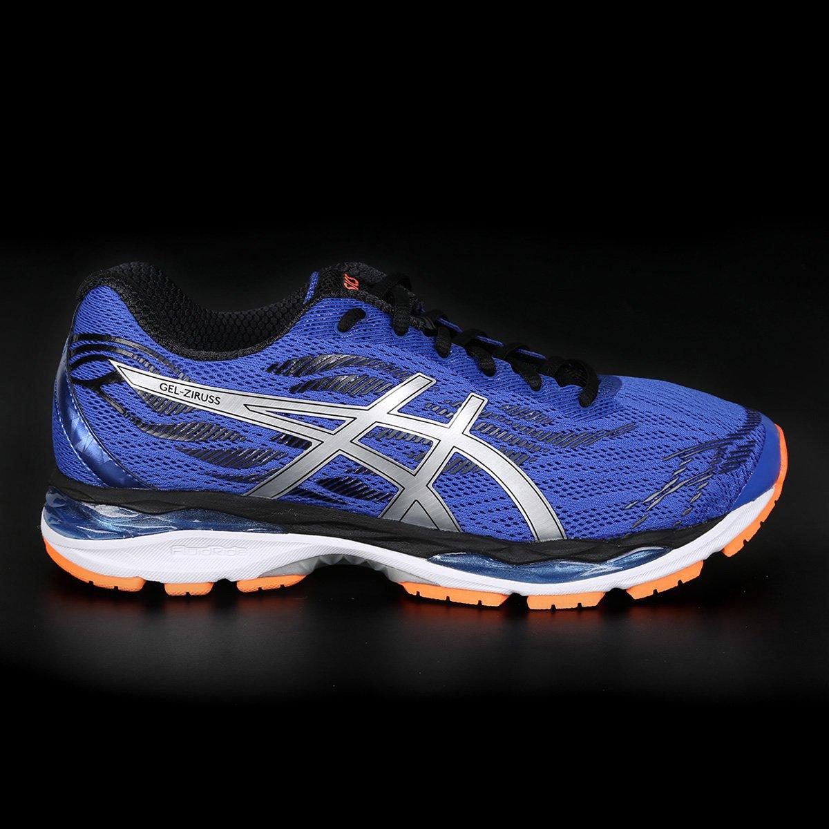 Tênis Asics Gel Ziruss Masculino - Azul e Roxo - Compre Agora  99b3940d63315