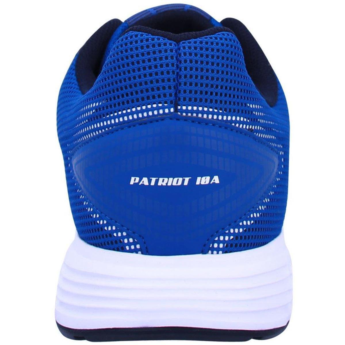 Tênis Asics Patriot 10 Masculino - Azul e Preto - Compre Agora ... de8072e85d111