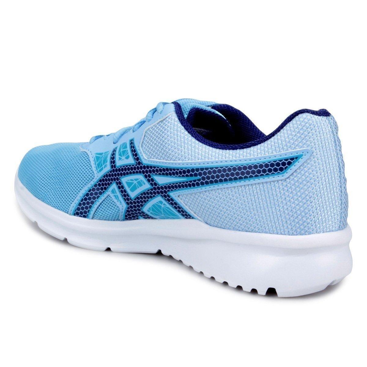 Tênis Asics Tarash Feminino - Azul Claro - Compre Agora  ddb145a9dd56a