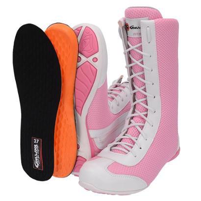 Tênis Cano alto de Academia Fitness G. Way Feminina - Feminino - Rosa