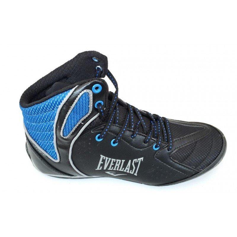 Cano Tênis e Everlast Preto Tênis Azul Alto Cano Masculino Strike UPwvvqa5E