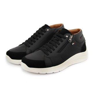 Tênis Cano Médio Palmilha Gel Conforto Casual Br2 Footwear Masculino