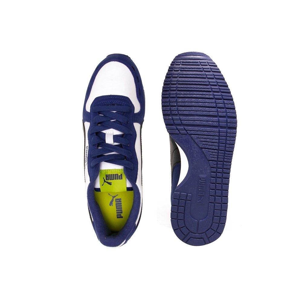Tênis Casual Puma Cabana Racer Sl Infantil - Compre Agora  3aeca7c791f3c