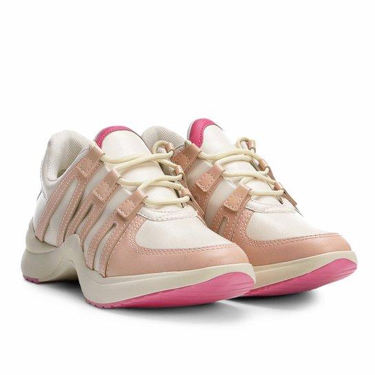 Tênis Chunky Ramarim Sneaker Feminino - Nude