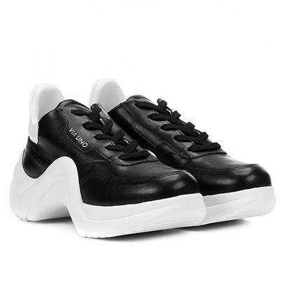 74934bd2c Tênis VIA UNO Dad Sneaker Chunky Rosa/Vermelho – Com desconto ...