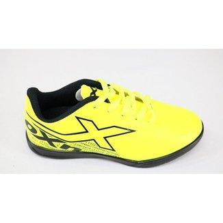 Tênis Chuteira OXN Velox 3 Indoor 2 Verde Limão