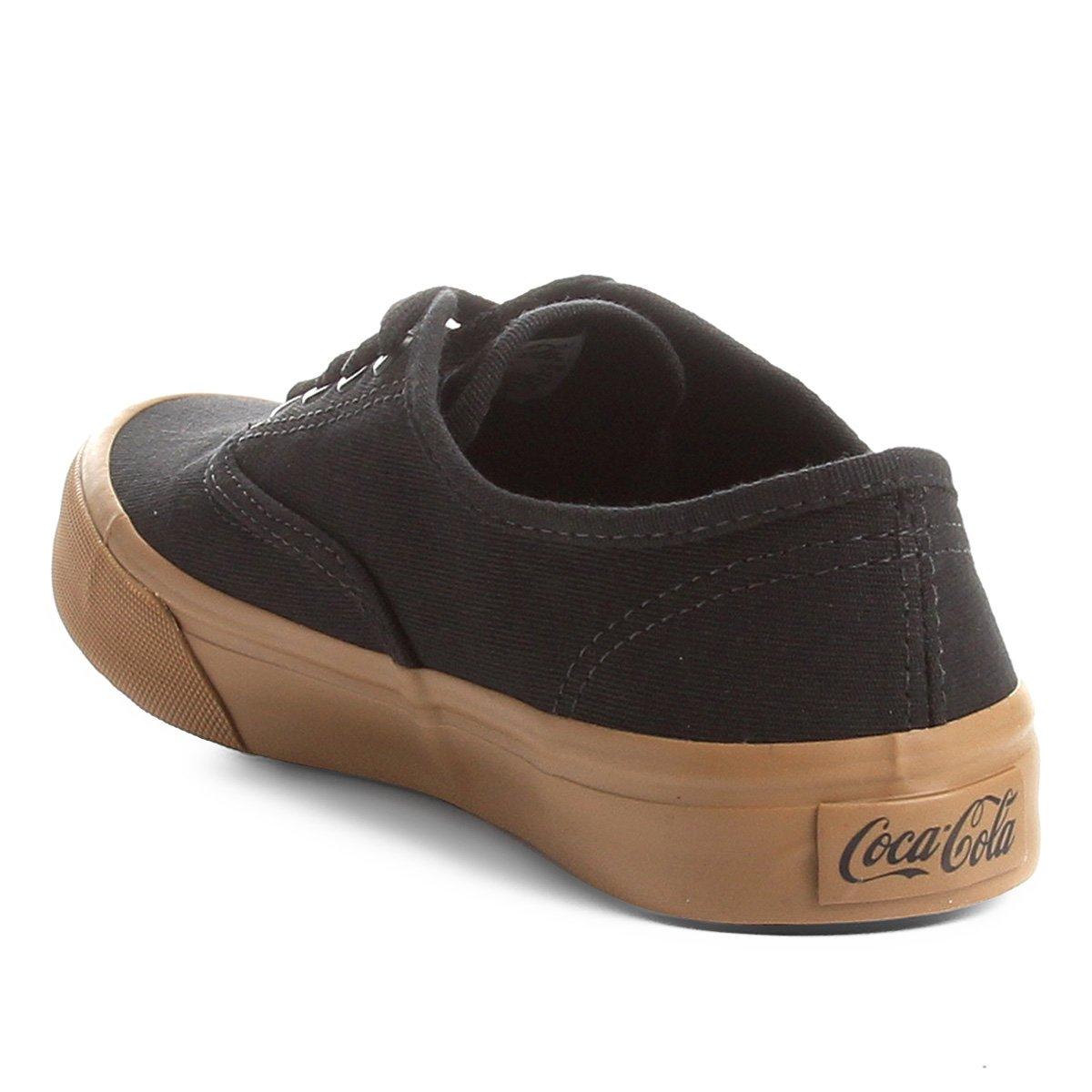Tênis Cola Coca Kick Summer Cola Preto Tênis e Primal Areia Coca gp5xn