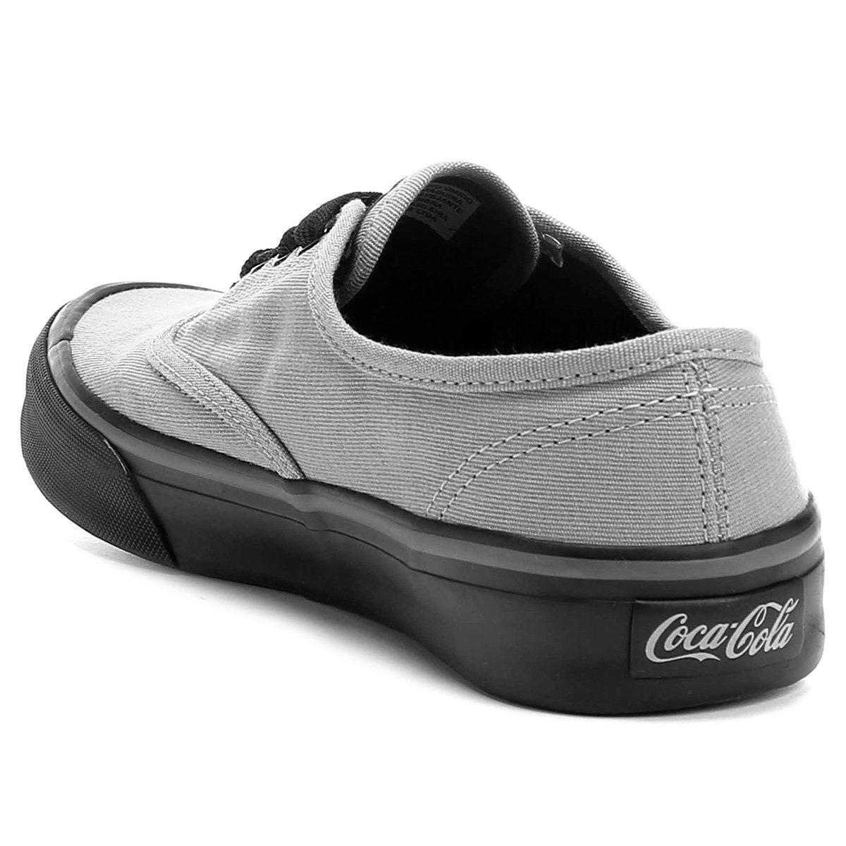 Summer Cinza Cola Kick Kick Coca Tênis Primal Coca Primal e Tênis Cola Preto Summer nPwwagq