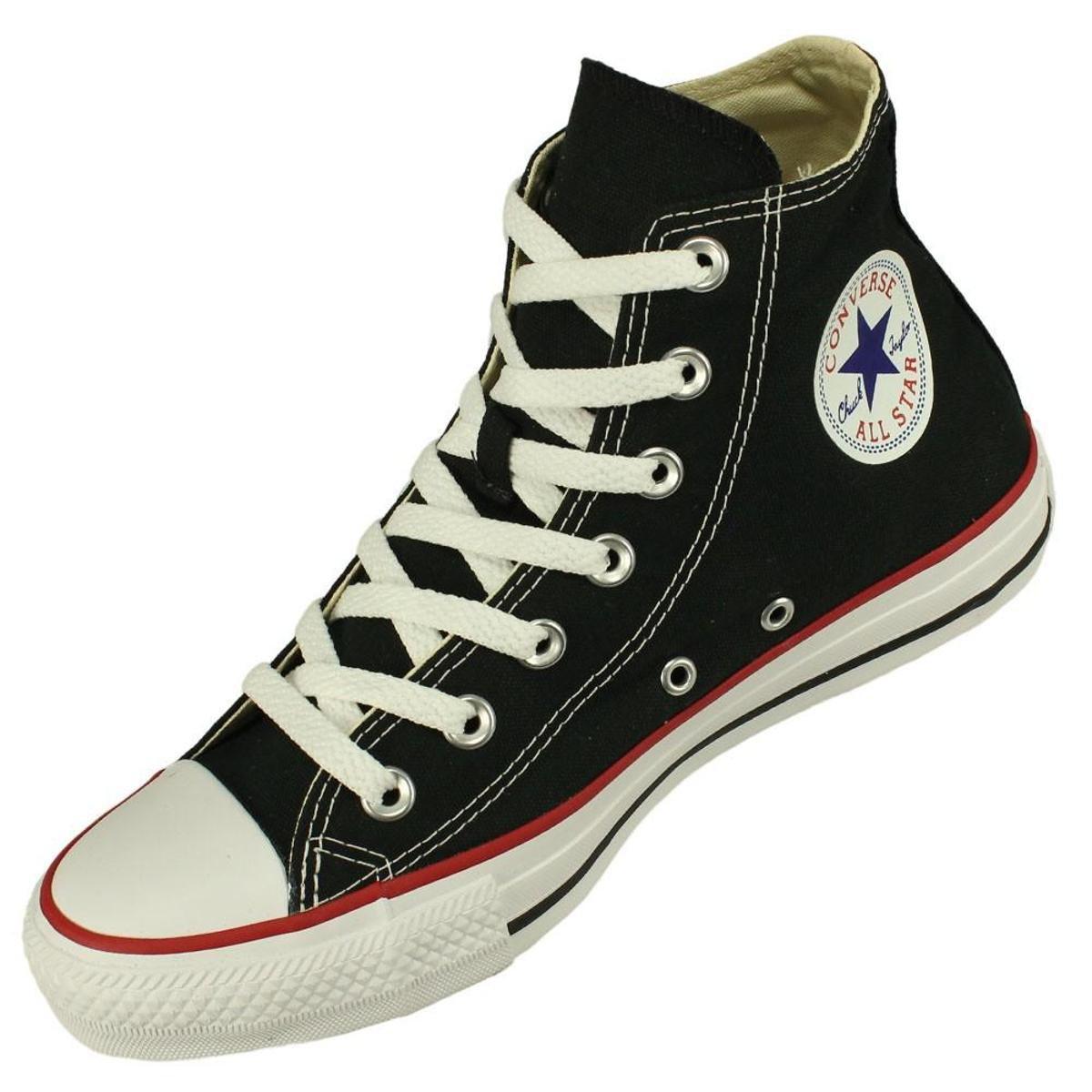 Tênis Converse All Star CT AS Core HI - Preto e Vermelho - Compre ... 96472f66ae4b7