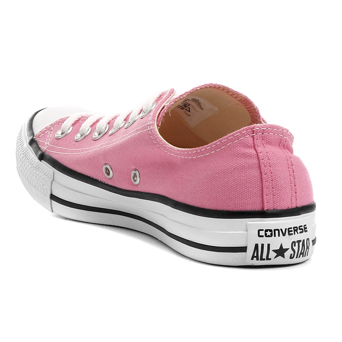 Ox As Converse All Core Star Ct Rosa Tênis e Branco YSwqp