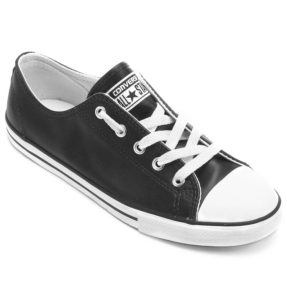 09599c00bc0 Tênis Converse All Star Ct As Dainty Leather Ox - Compre Agora ...