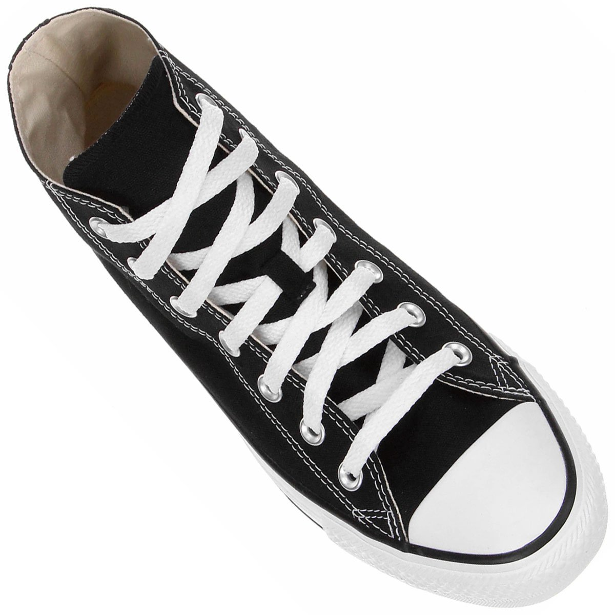 All HI Preto AS Converse CT Star e Tênis Branco q75Ywnq