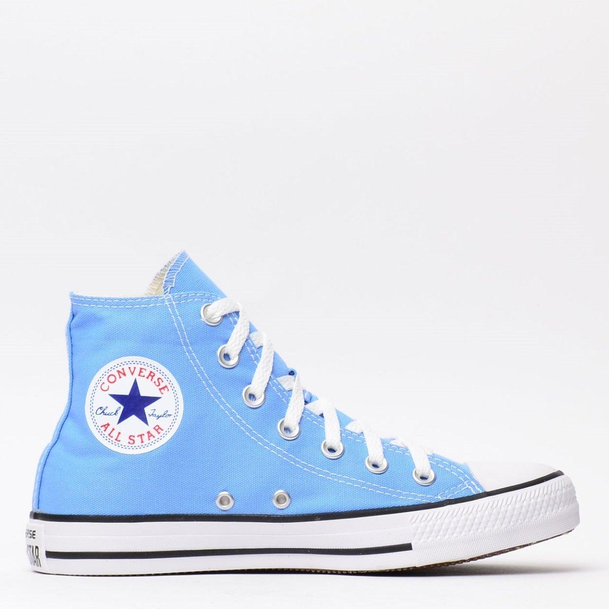caa441c260f Tênis Converse Chuck Taylor All Star Azul Hortenc - Compre Agora ...