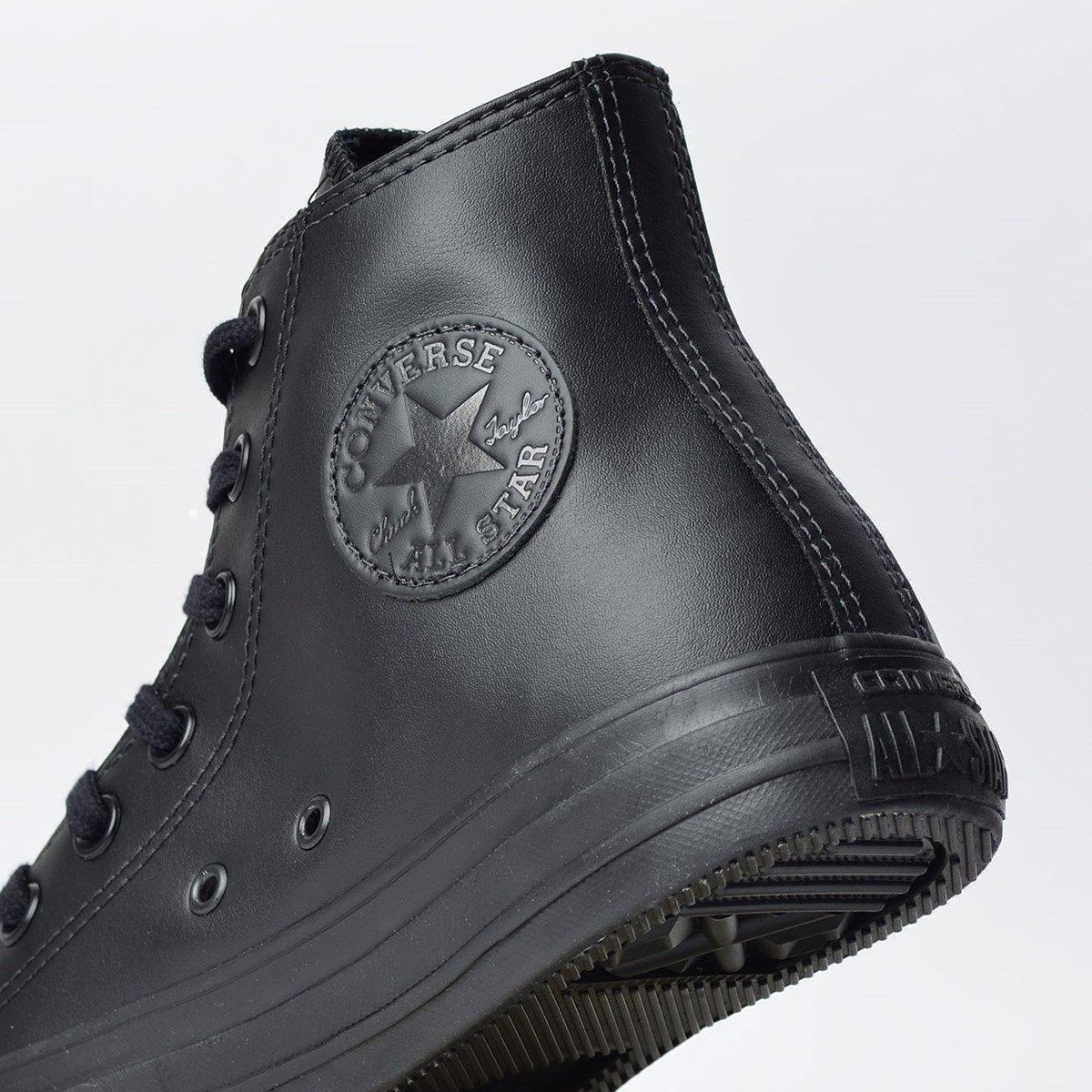dc1785e98f9 Tênis Converse Chuck Taylor All Star Monochrome Leather Hi - Compre ...