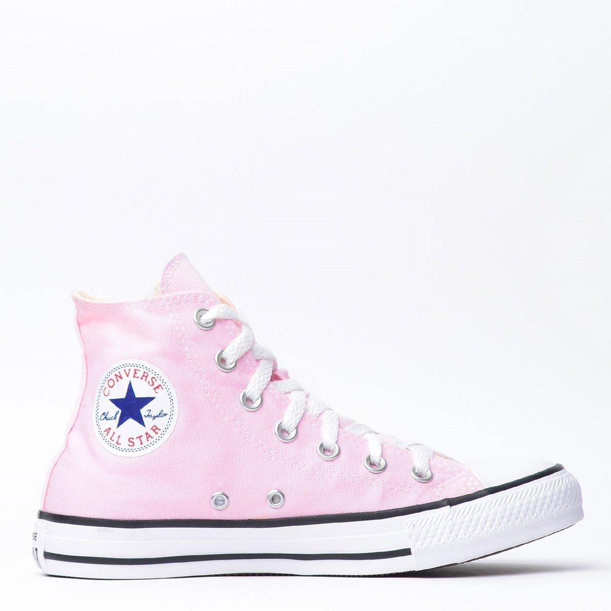 Tênis Converse Chuck Taylor All Star Seasonal Hi Feminino Rosa