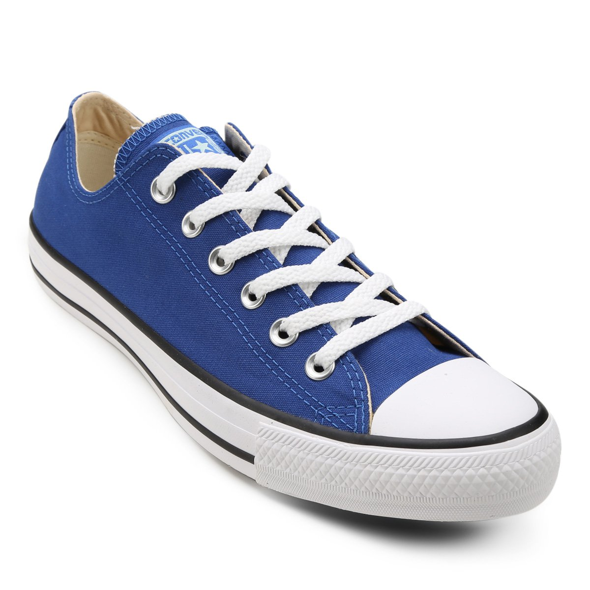 a7443b4efe Tênis Converse Chuck Taylor All Star - Azul e Branco - Compre Agora ...