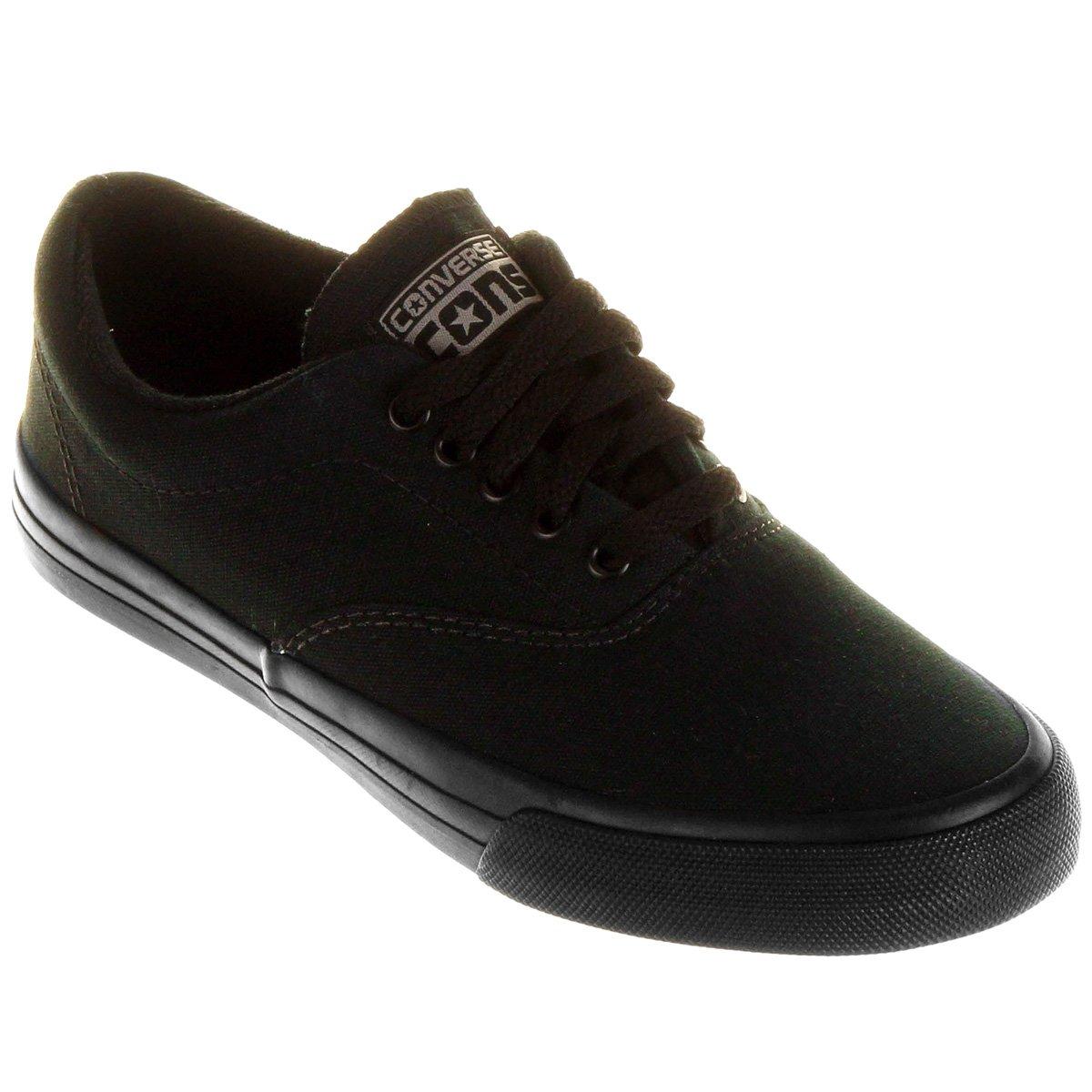 0ec6572fcbac6c ... ox 7ece9 9a658 purchase tênis converse skateboard preto 5150c b0592 ...