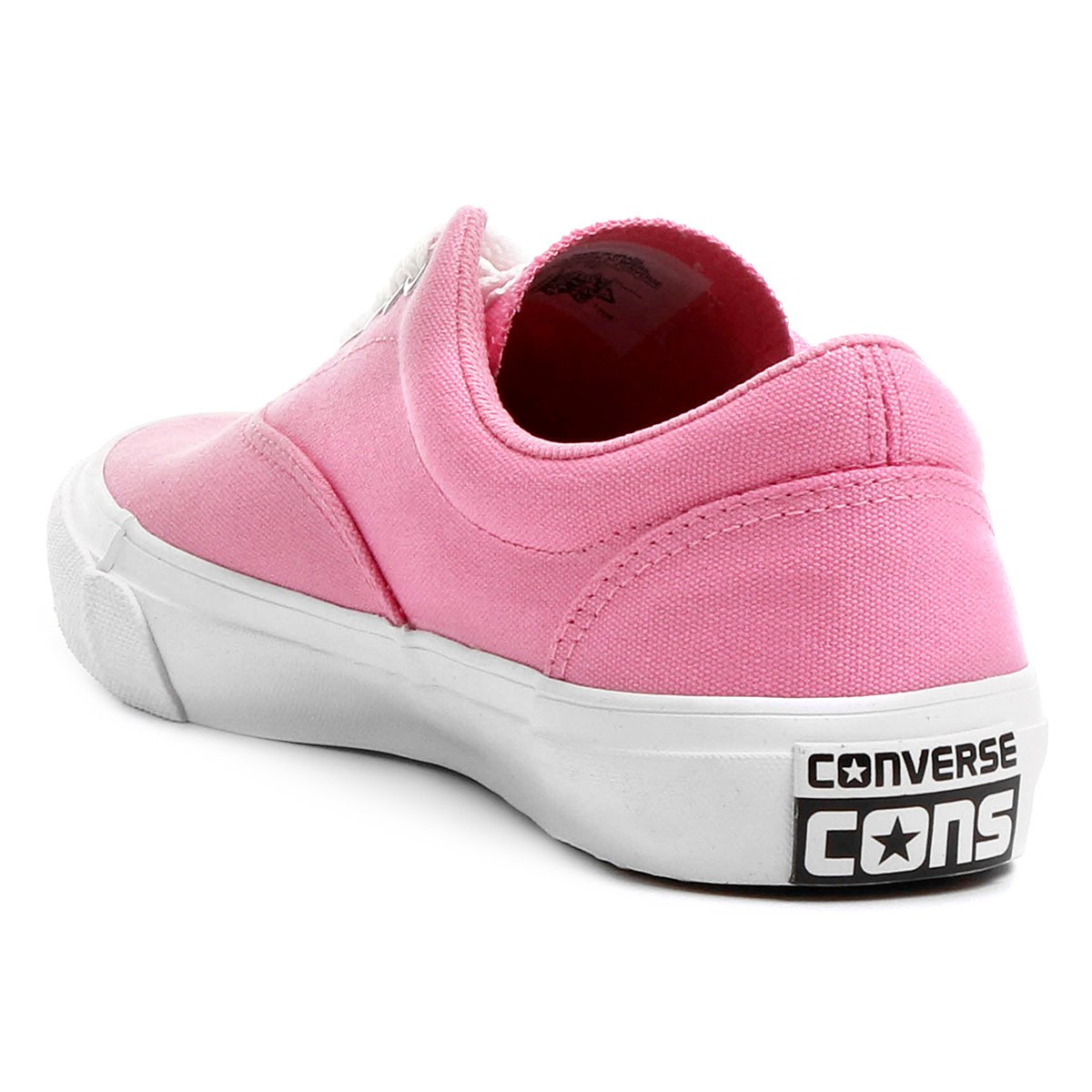 Converse Tênis Tênis Converse Branco Cvo e Rosa Skidgrip ETfx8Hxwq