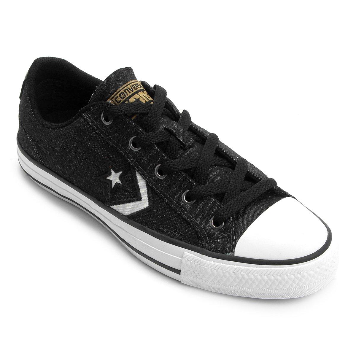 18ce09504f Tênis Converse Star Player Jeans Ev Ox - Compre Agora