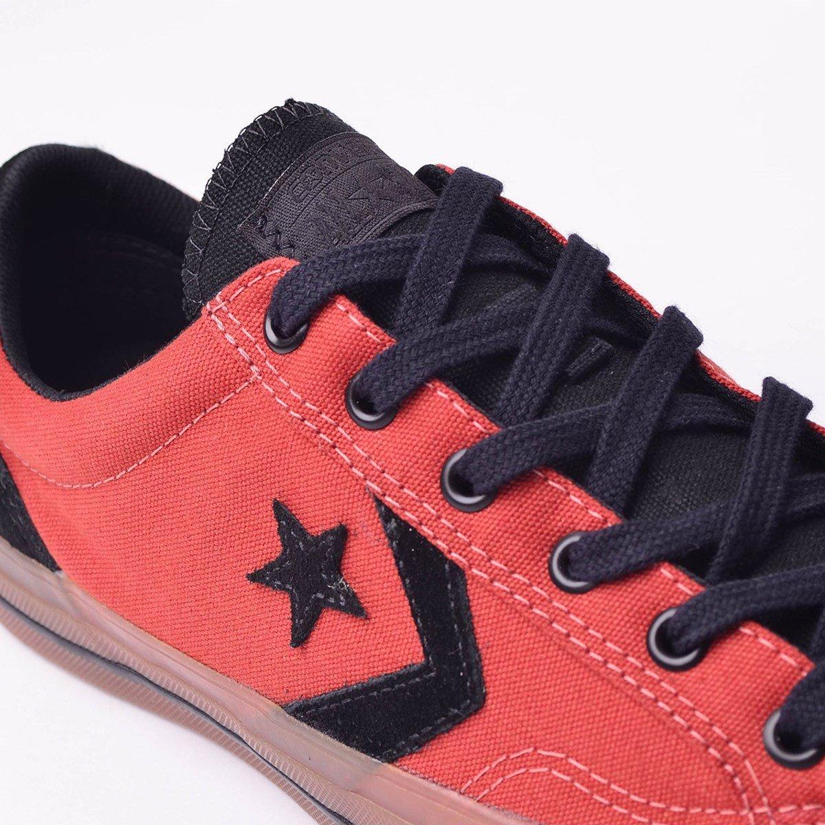 e Tênis Player Preto Converse Vermelho Tênis Star Converse YB7w4
