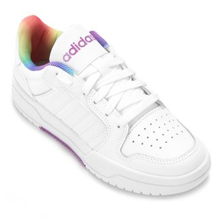 Tênis Couro Adidas Entrap Pride Feminino
