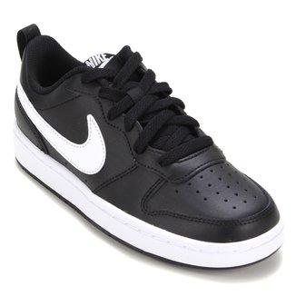 Tênis Couro Infantil Nike Court Borough Low 2