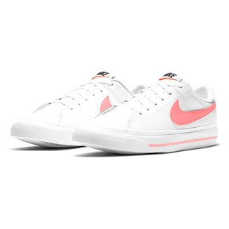 Tênis Couro Juvenil Nike Court Legacy Bg Masculino