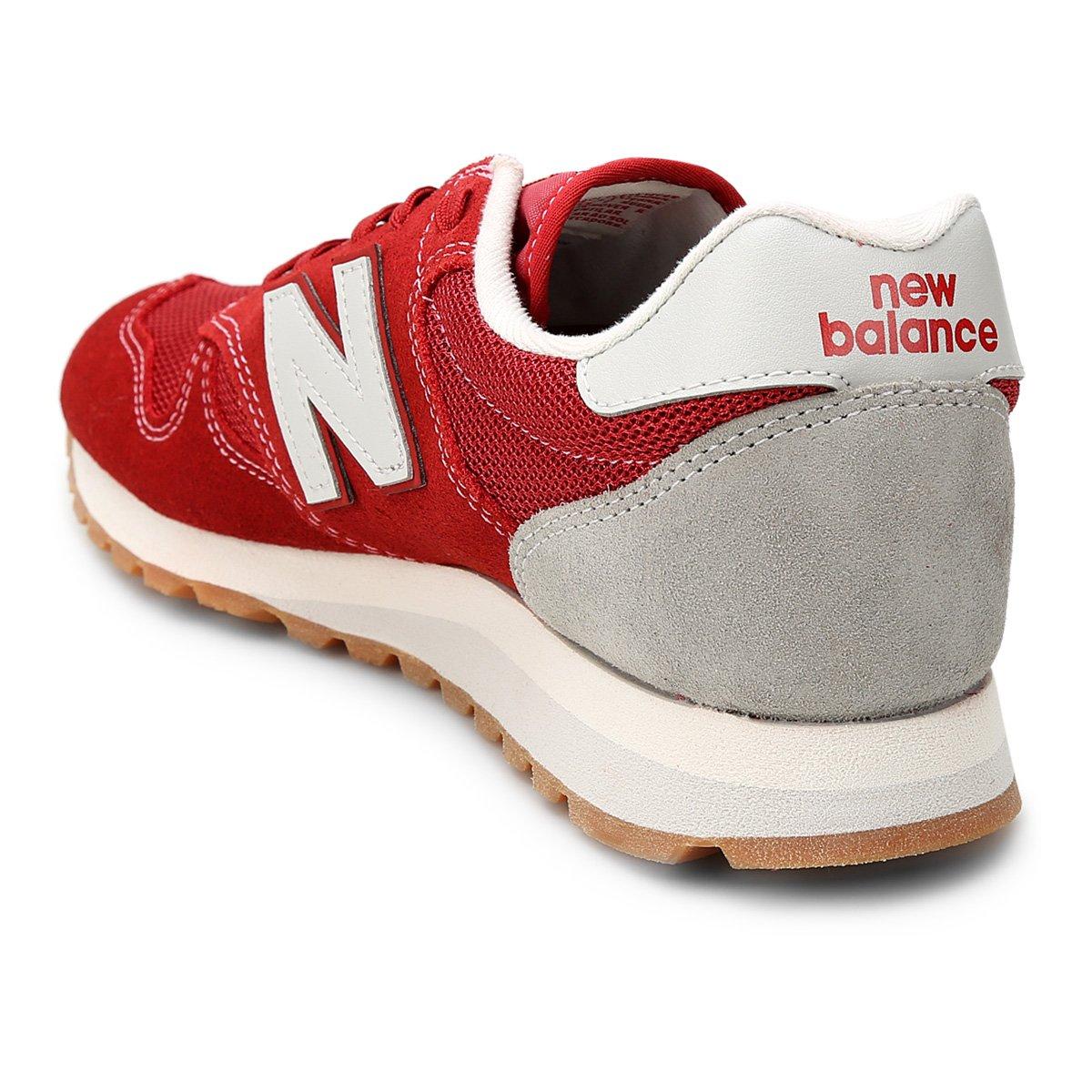 Tênis U e Balance New Branco Couro 520 Vermelho Masculino ggzafBxqw