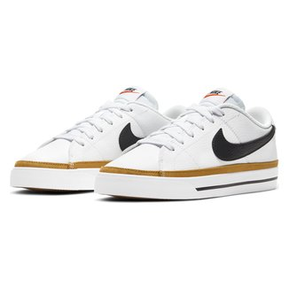 Tênis Couro Nike Court Legacy Feminino