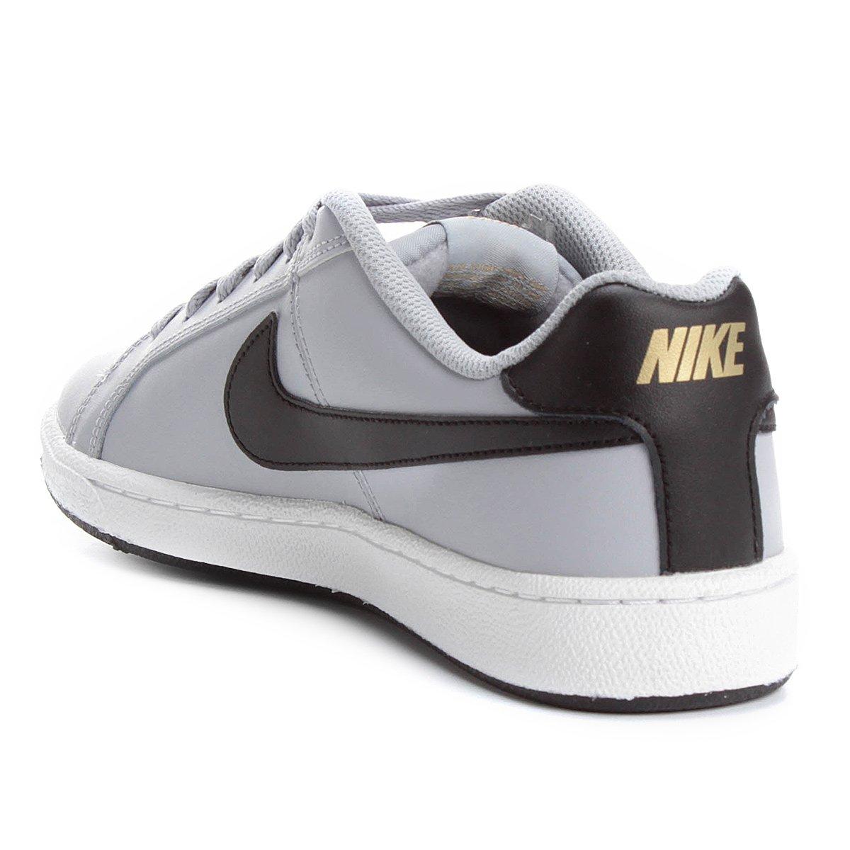 a2abce6368 Tênis Couro Nike Court Royale Masculino - Cinza - Compre Agora ...
