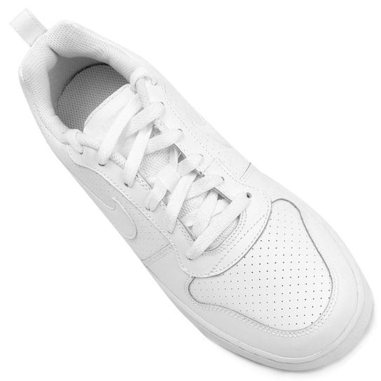 Tênis Couro Nike Recreation Low Feminino - Branco