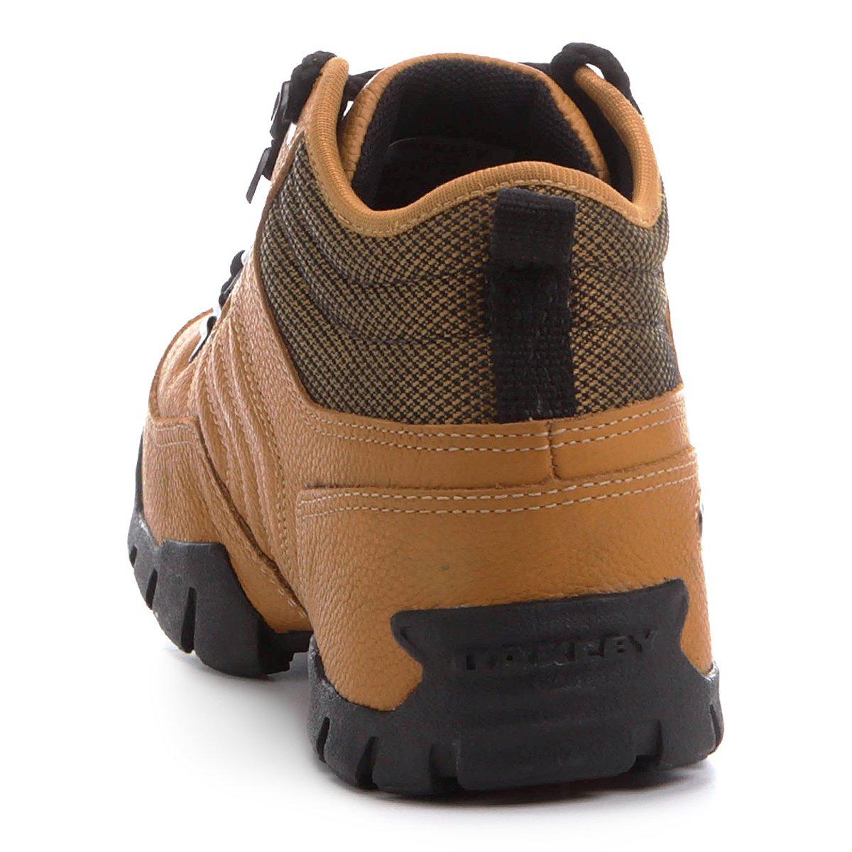 dde149233717c Tênis Couro Oakley Beckon Masculino - Bege - Compre Agora   Netshoes