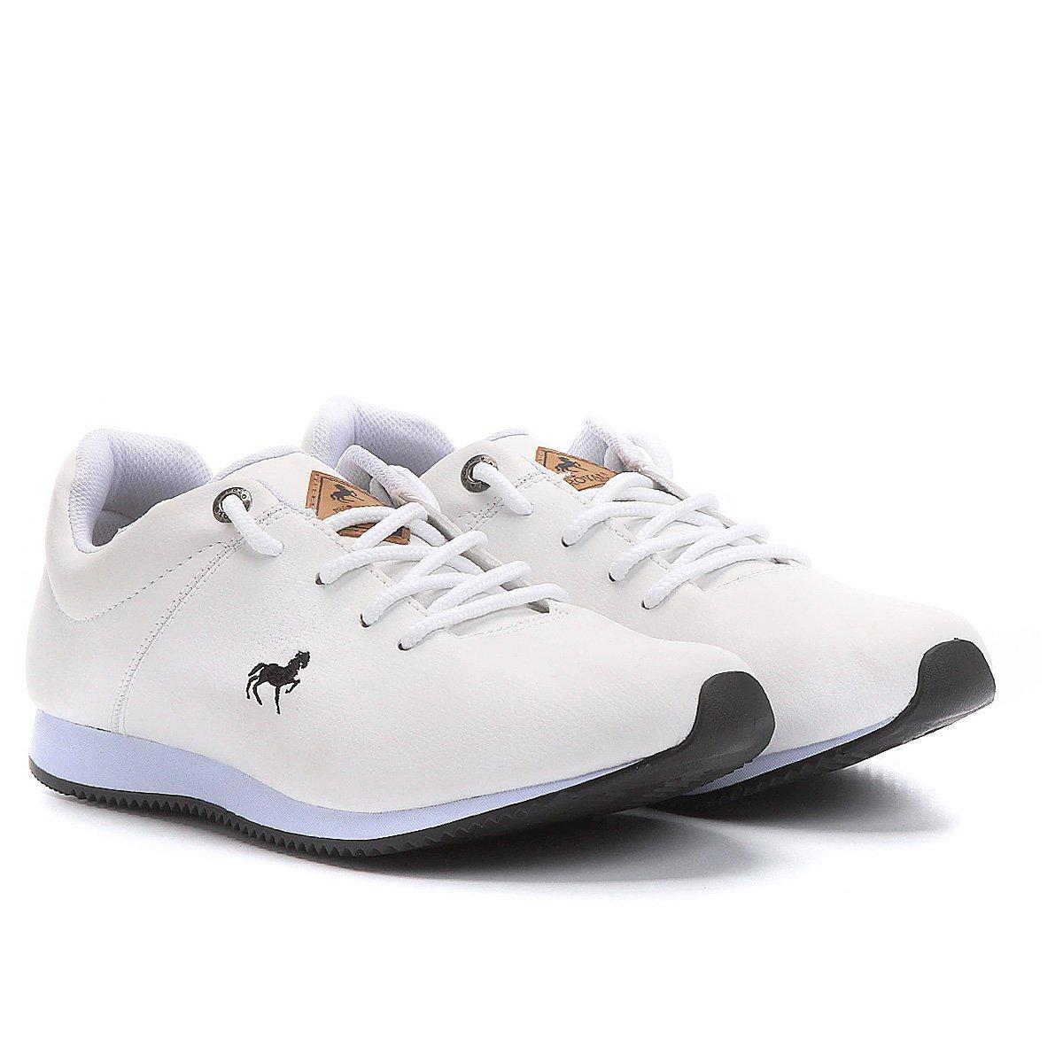7fa0046374 Tênis Couro Polo Royal Jogging LTH Masculino | Netshoes
