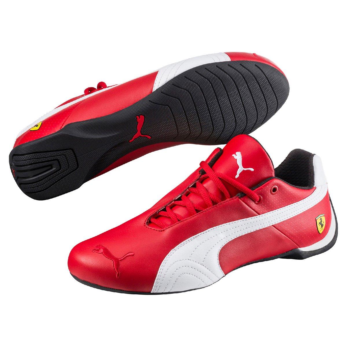 b555c517aae02 Tênis Couro Puma Scuderia Ferrari Future Cat OG Masculino - Vermelho e  Preto | Netshoes