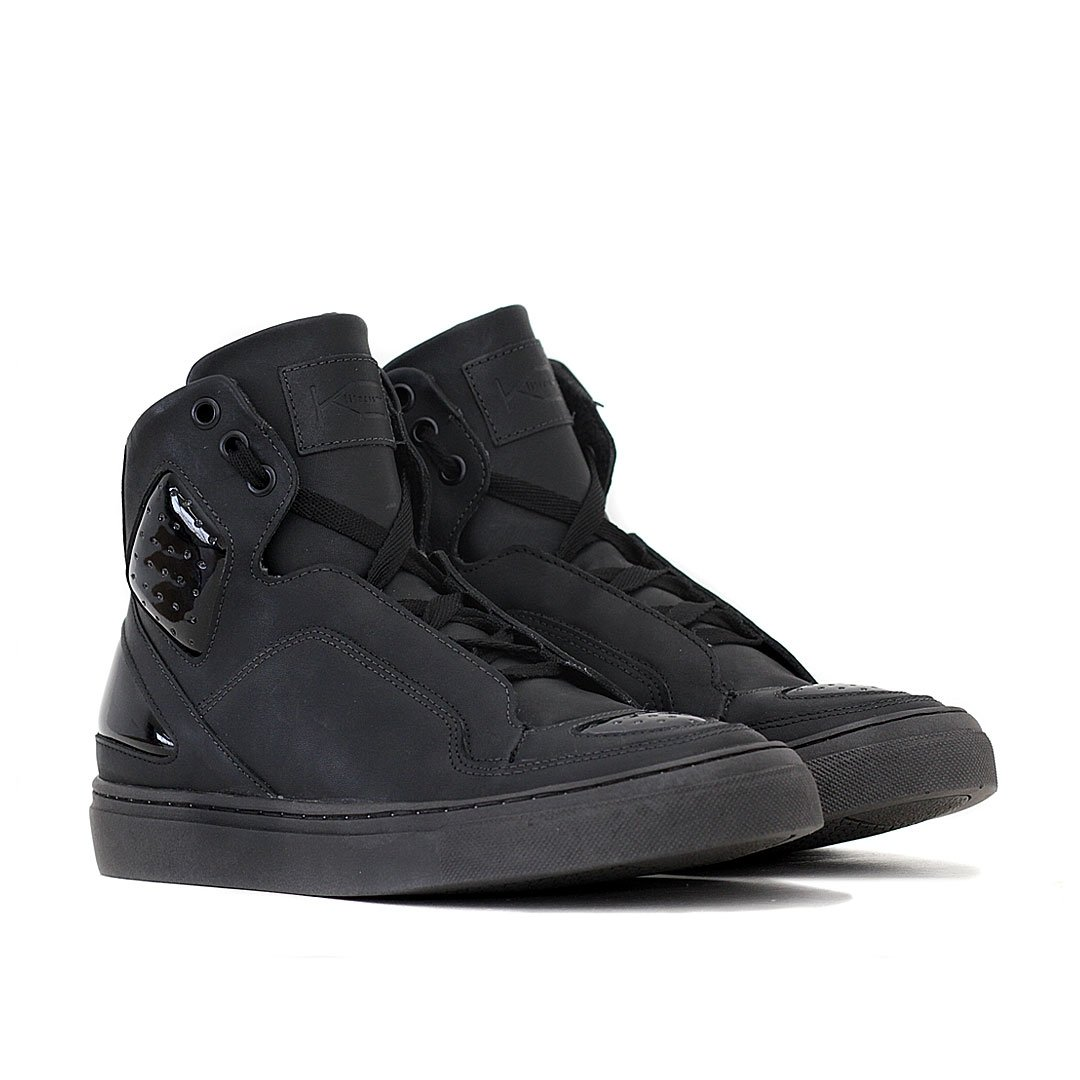 Sneaker Preto Couro Tênis Fitness Space Sneaker Tênis K3 Couro xpzw6In