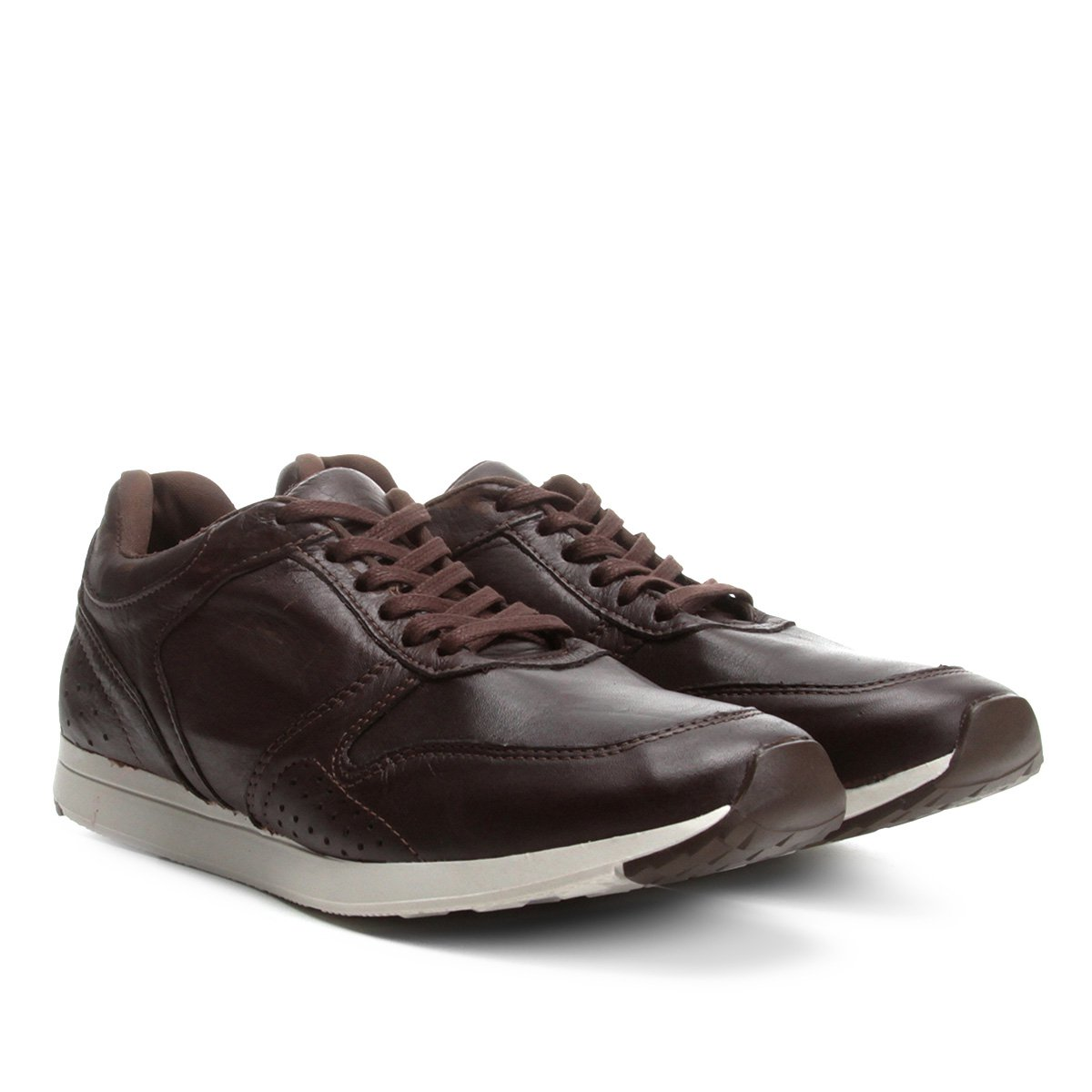 a676c97bf Tênis Couro Walkabout Jogging Masculino | Netshoes