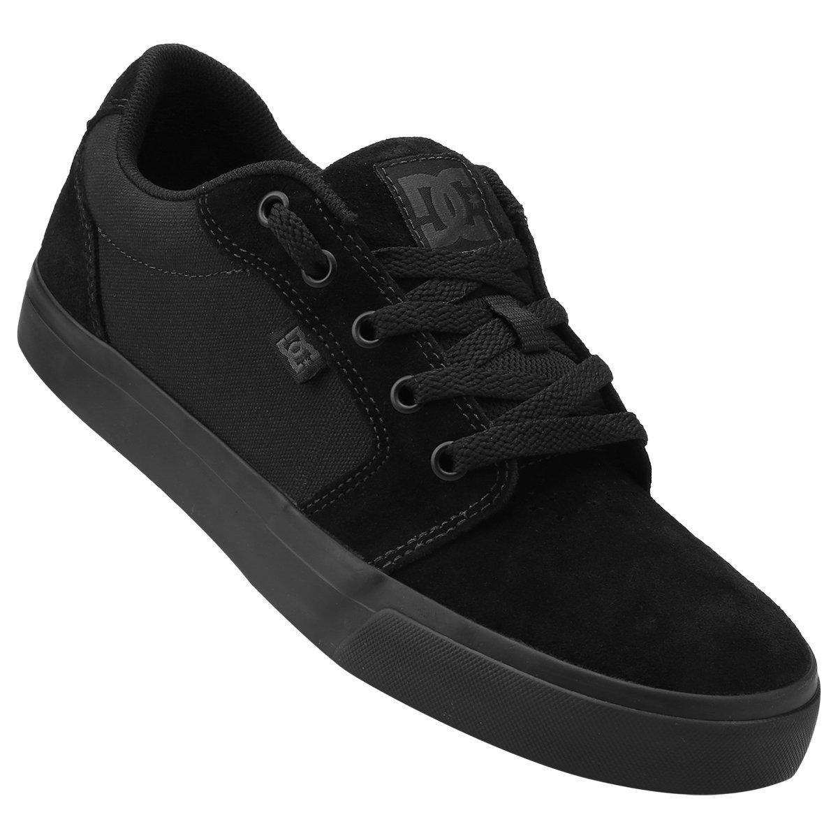 Tênis DC Shoes Anvil 2 La - Preto